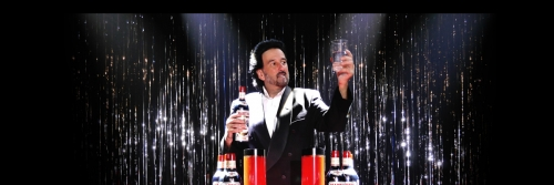 Magician / Illusionist John Sterlini Multiplying Bottles